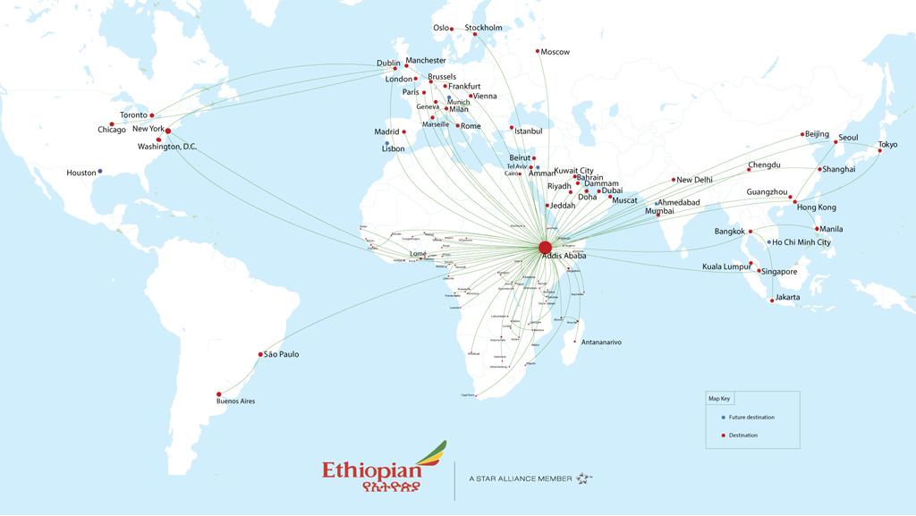 Ethiopian route